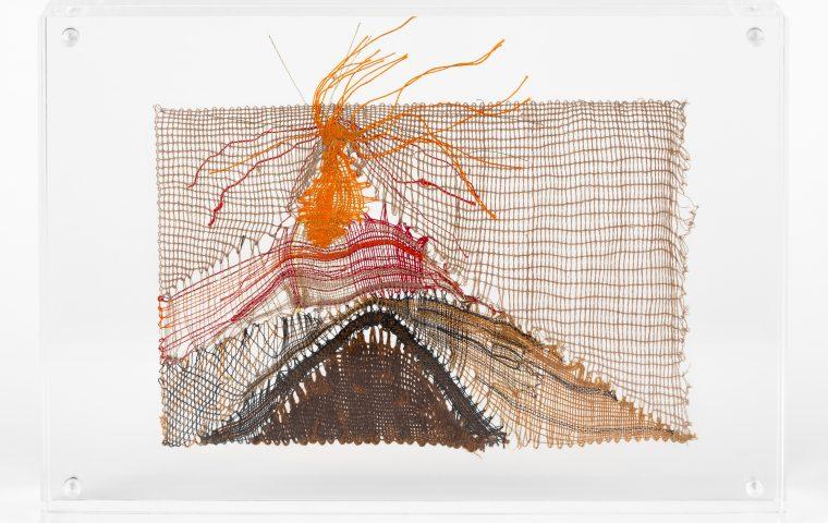 Geneviève Quiévreux – Jaujac – dentelle – 12,7 x 17,8 x 3,2 cm