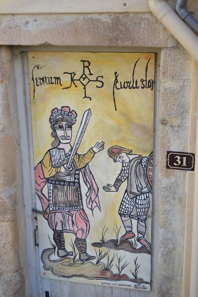 Légende Joyeuse Sud Ardèche épée de Charlemagne