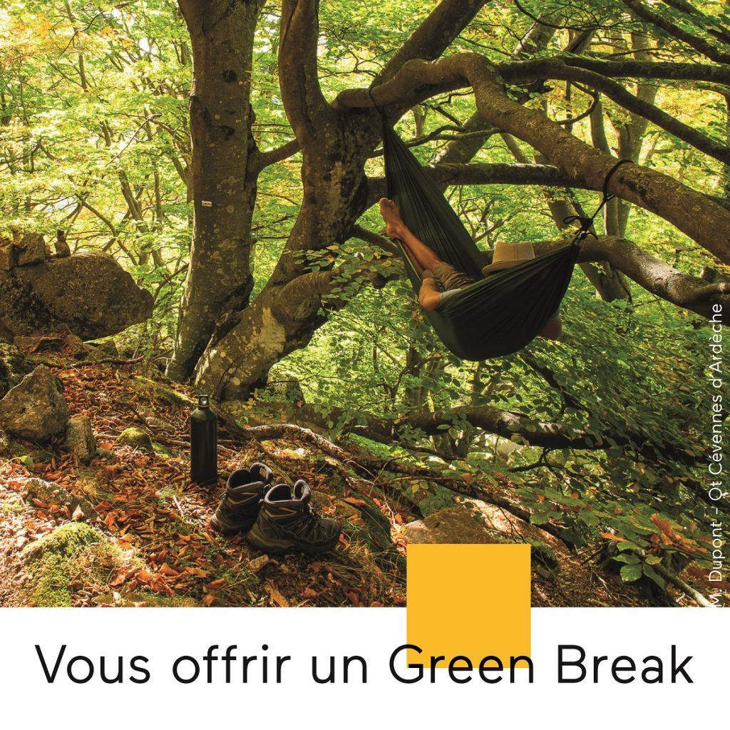 S'offrir un green break en Ardèche