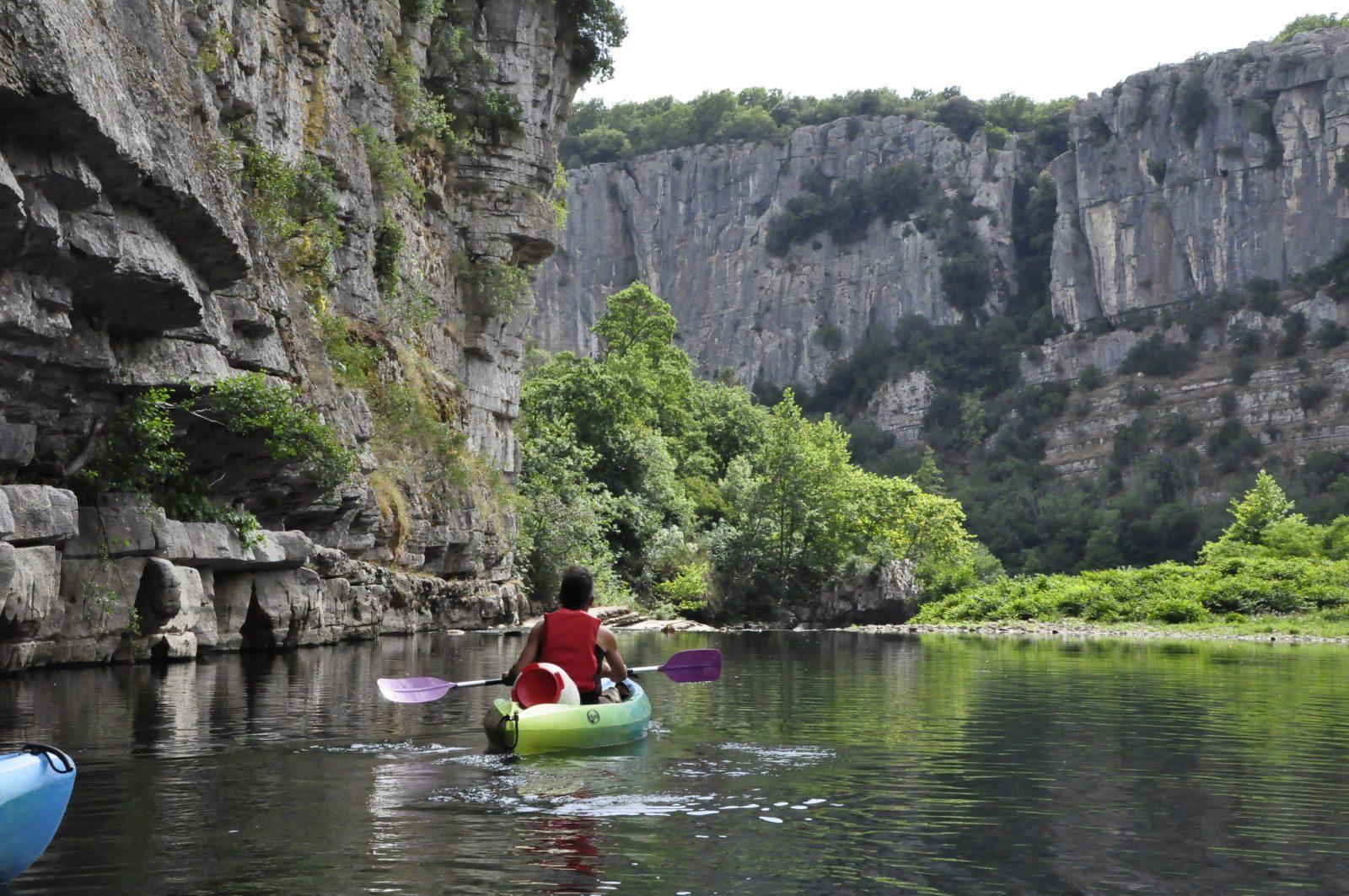 Location canoë