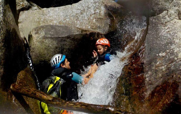 canyon haut chassezac cevennes ardeche gecco