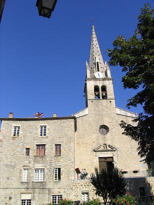 Photo-église joyeuse