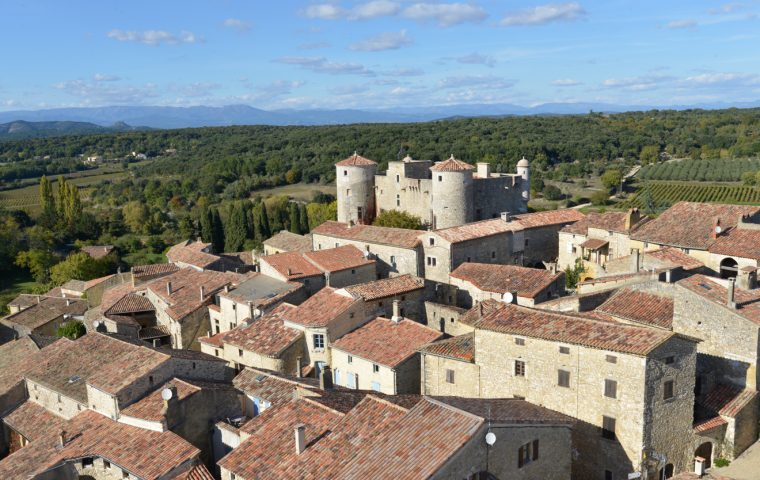 Labastide de Virac – Château des Roure