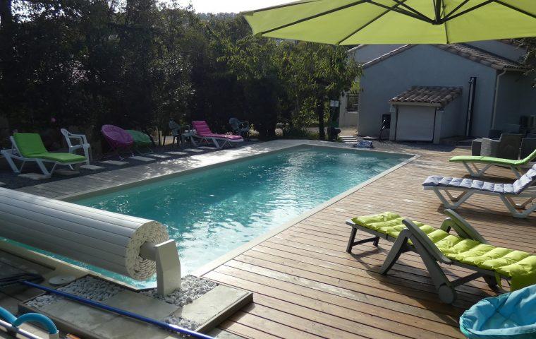 villa des ayres piscine