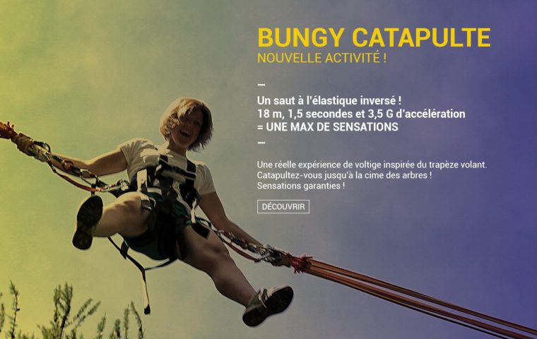 Bungee catapulte
