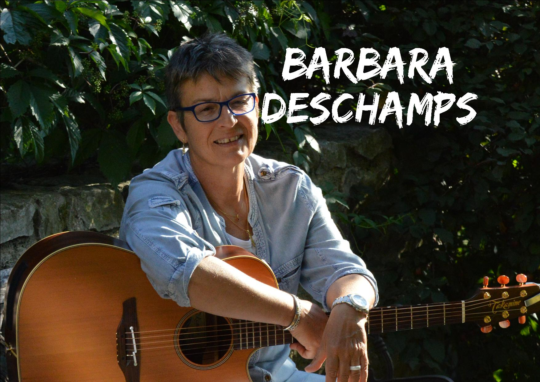 Barbara DESCHAMPS en concert