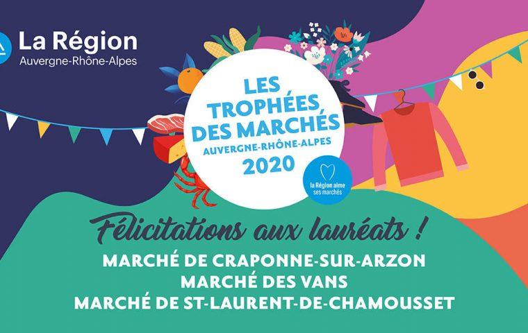 Trophée des marchés Auvergne-Rhône Alpes