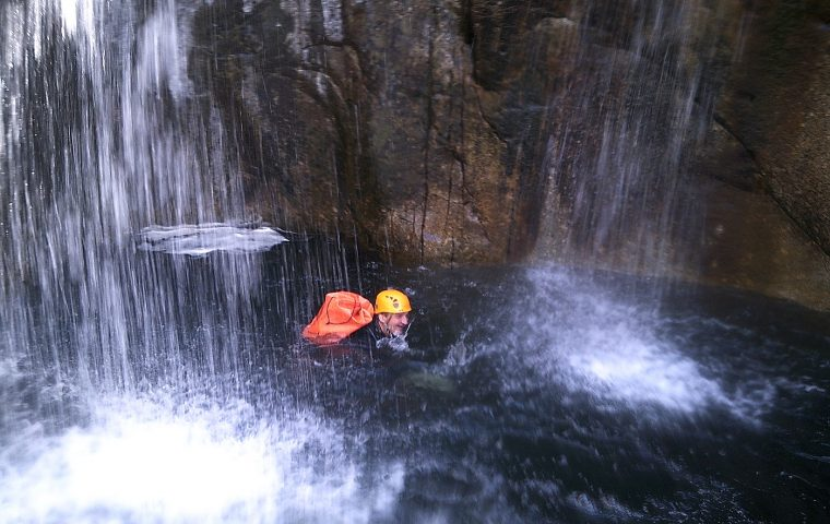 canyoning haut chassezac